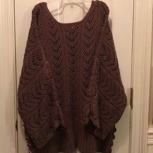 Modern Soul Sweaters - Size 2X  — open Knit Sweater
